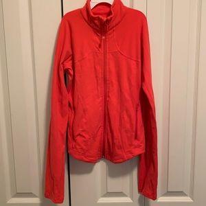 Lululemon Orange Forme jacket - size 4 EUC